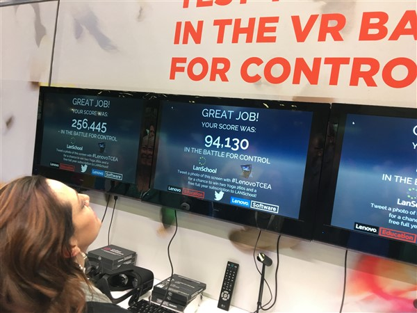 Heather's score for the VR games.